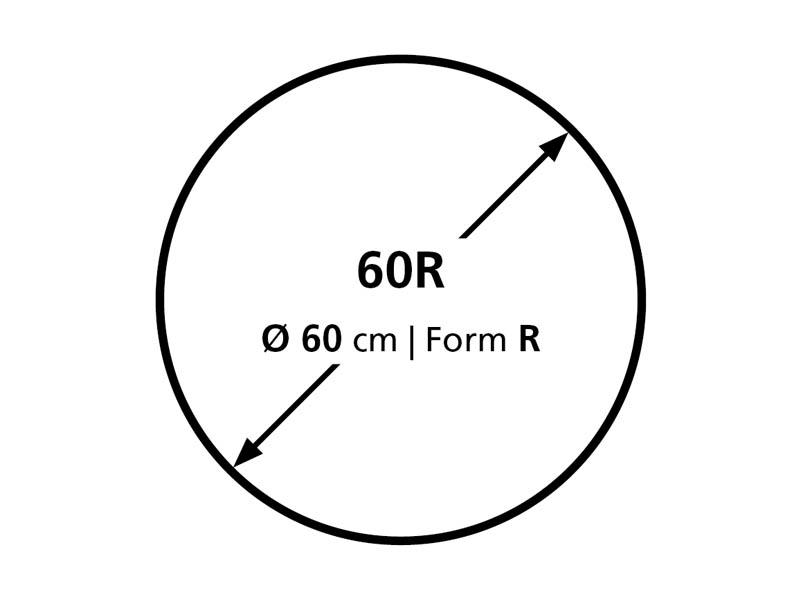 Podložka na podlahu BSM R 60 cm