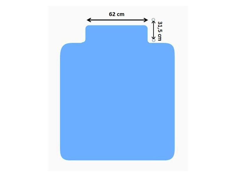 Podložka na podlahu SILTEX L 1,21x1,34
