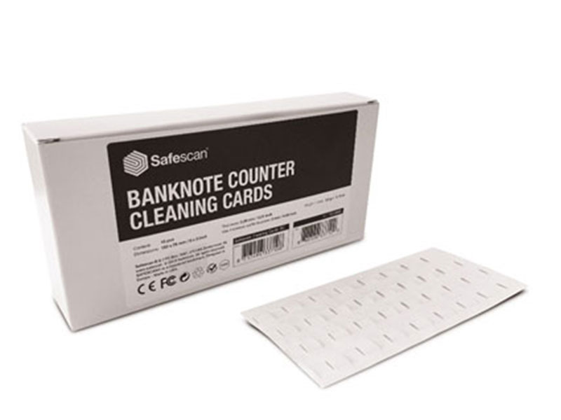 Čistící bankovky pro počítačky bankovek 15 ks