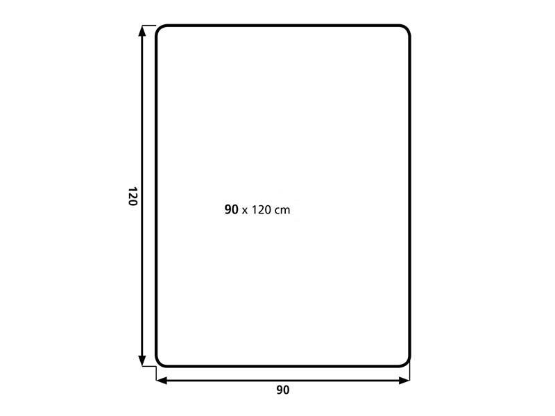Podložka na podlahu AVELI 1,2x0,9
