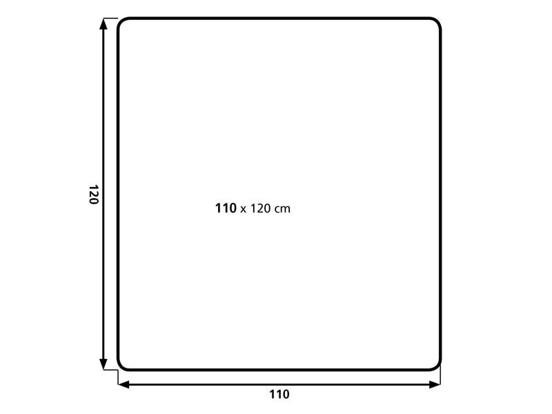 Podložka na podlahu AVELI 1,2x1,1