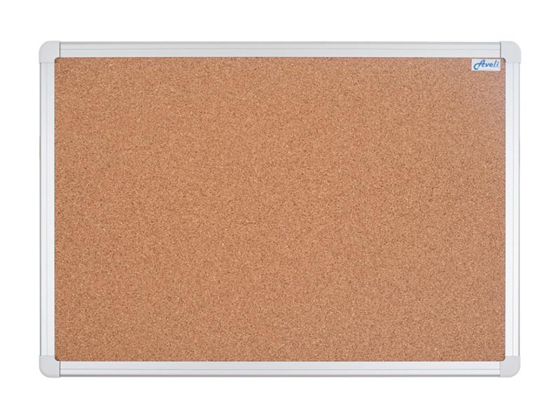 Korková nástěnka AVELI 180x90 cm, hliníkový rám