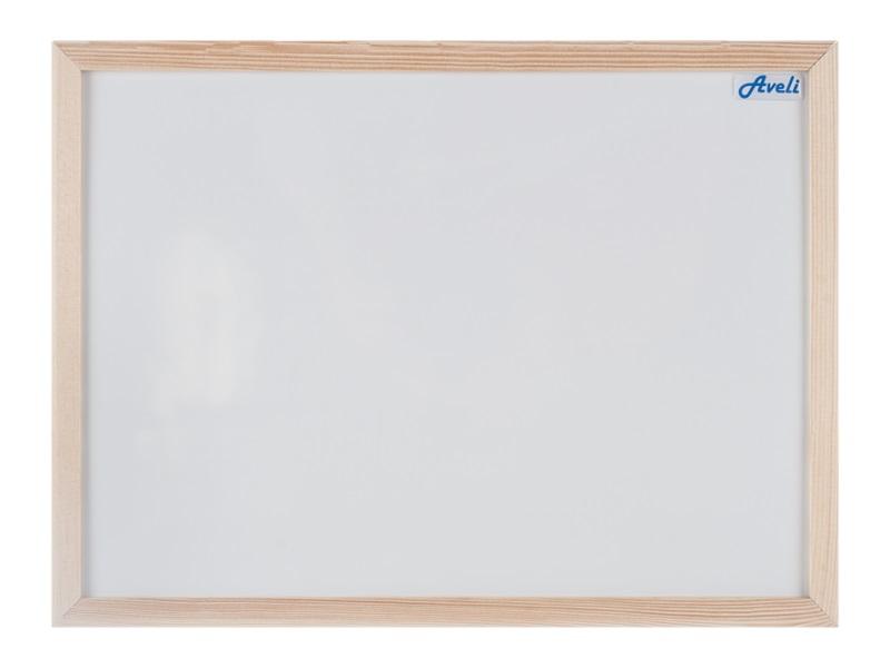 Magnetická tabule AVELI 90x120 cm, dřevěný rám
