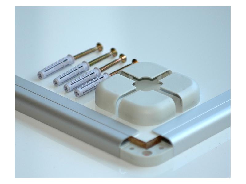 Magnetická tabule AVELI 200x100 cm hliníkový rám