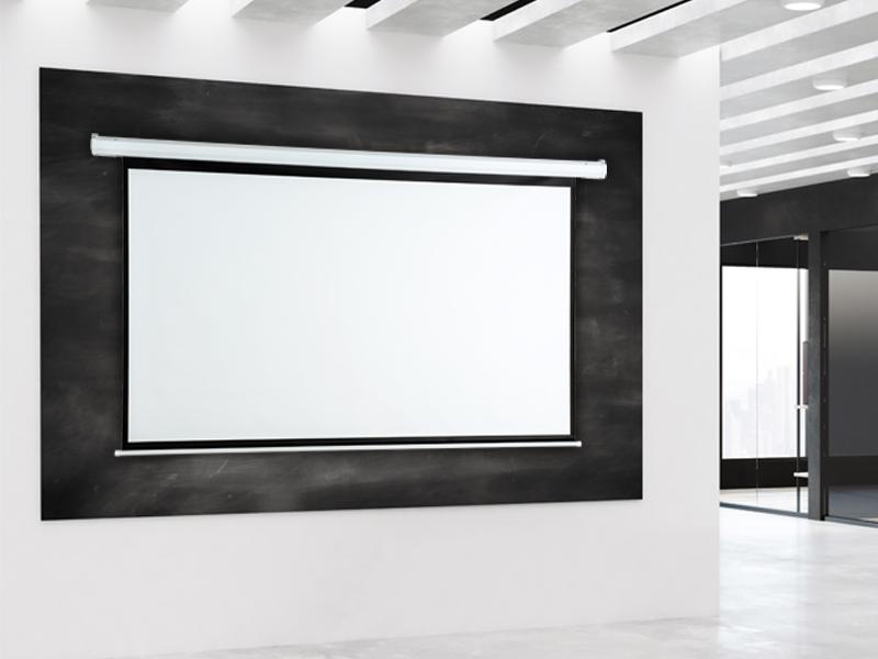 Elektrické projekční plátno AVELI, 150x113 (4:3)