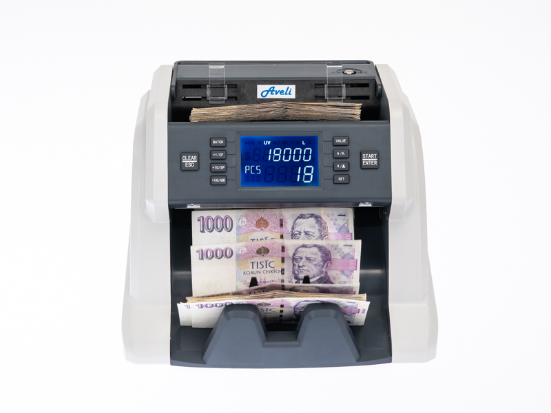 Počítačka bankovek AVELI BASIC 30