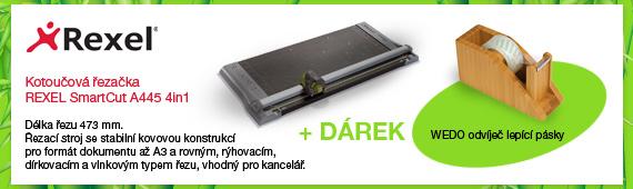 Koutoučová řezačka REXEL SmartCut A445 4in1 + DÁREK